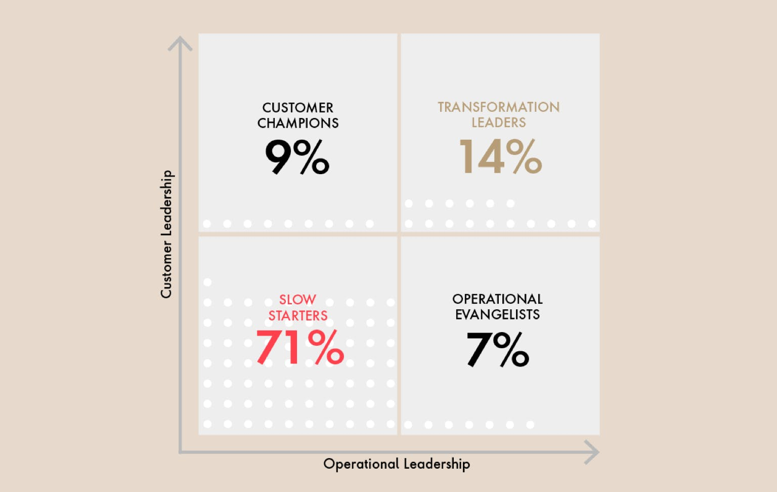 Who are the Transformation leaders?